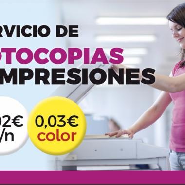 Impresiones y fotocopias Murcia