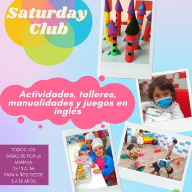 Saturday Club - Ludoteca en Inglés los Sábados